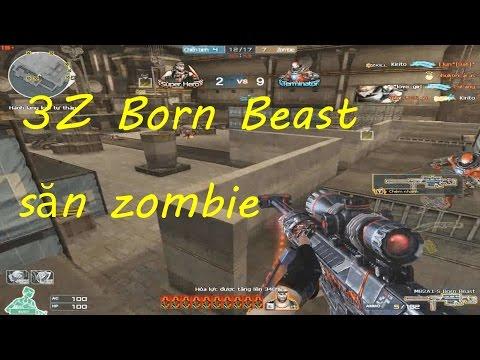 [ Bình Luận CF ] Set súng VIP 3z Born Beast - Tiền Zombie v4