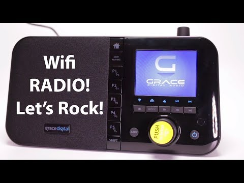 Grace Digital Mondo Wi-Fi Music Player Radio Review