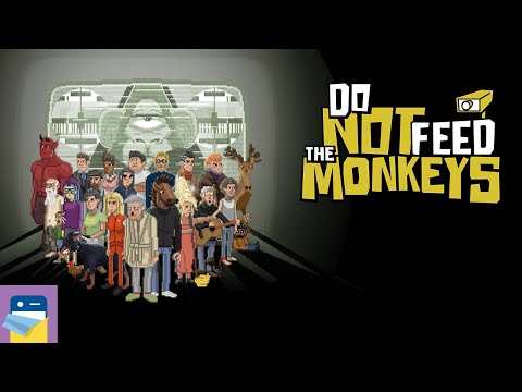 Do Not Feed the Monkeys: iOS / Android Gameplay Part 1 (by Alawar Entertainment)