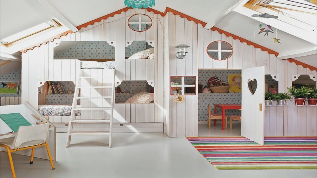 Adorable Indoor Playhouse For Children 2017   Room Ideas
