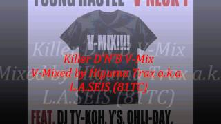 Young Hastle - V-Neck T (Higuma Trax Killer D