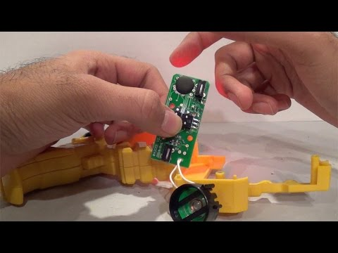 Dino Charge Morpher - ALL SOUNDS! [Power Rangers Dino Charge]