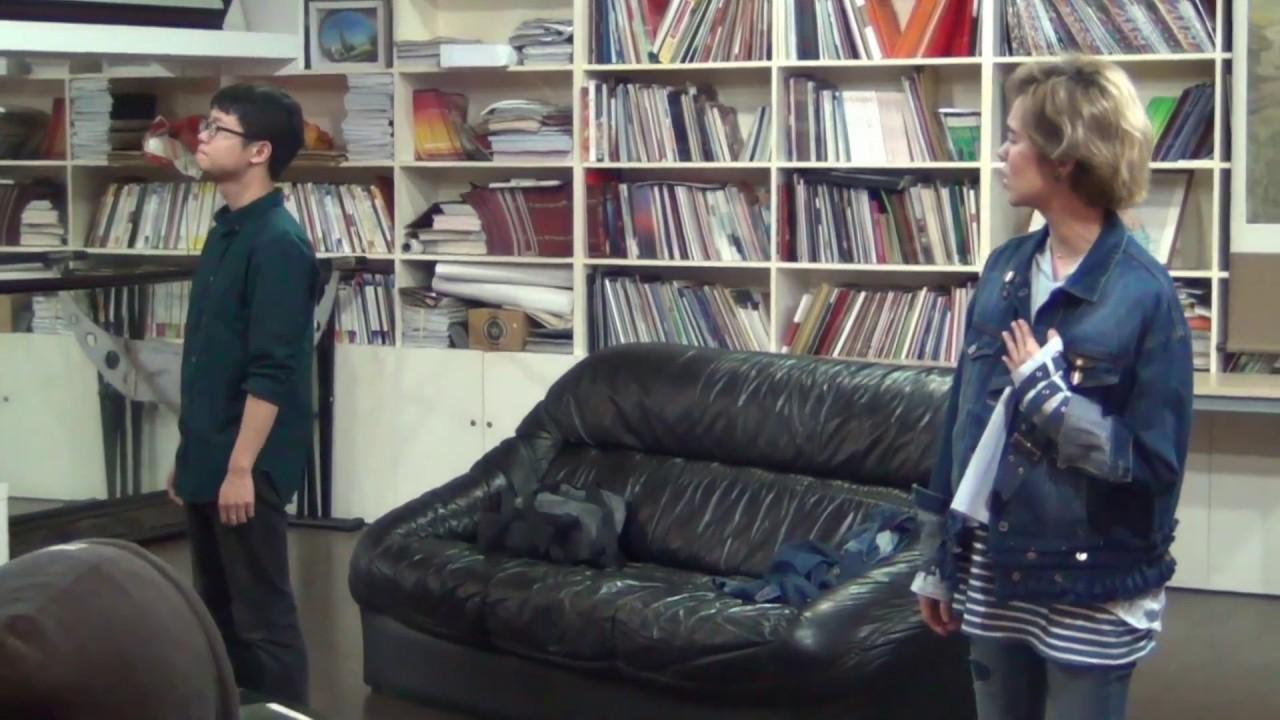 【郁可唯Yisa Yu】練習表演音樂劇《天堂邊緣》片段(改自小羅伯唐尼電影《穿梭陰陽間》)的唱段《心裡哪個角落》