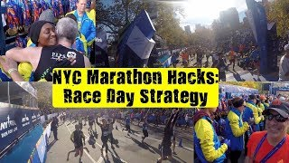 NYC Marathon Hacks: Race Day Strategy