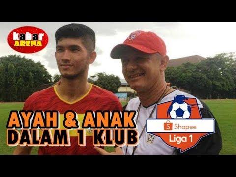 4  Kolaborasi Ayah & Anak Dalam 1 Klub | Shopee Liga 1 Indonesia