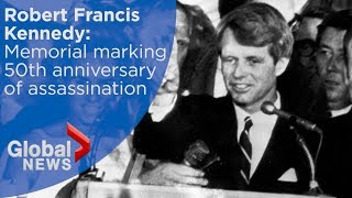 Robert F. Kennedy remembered on 50th anniversary of assassination