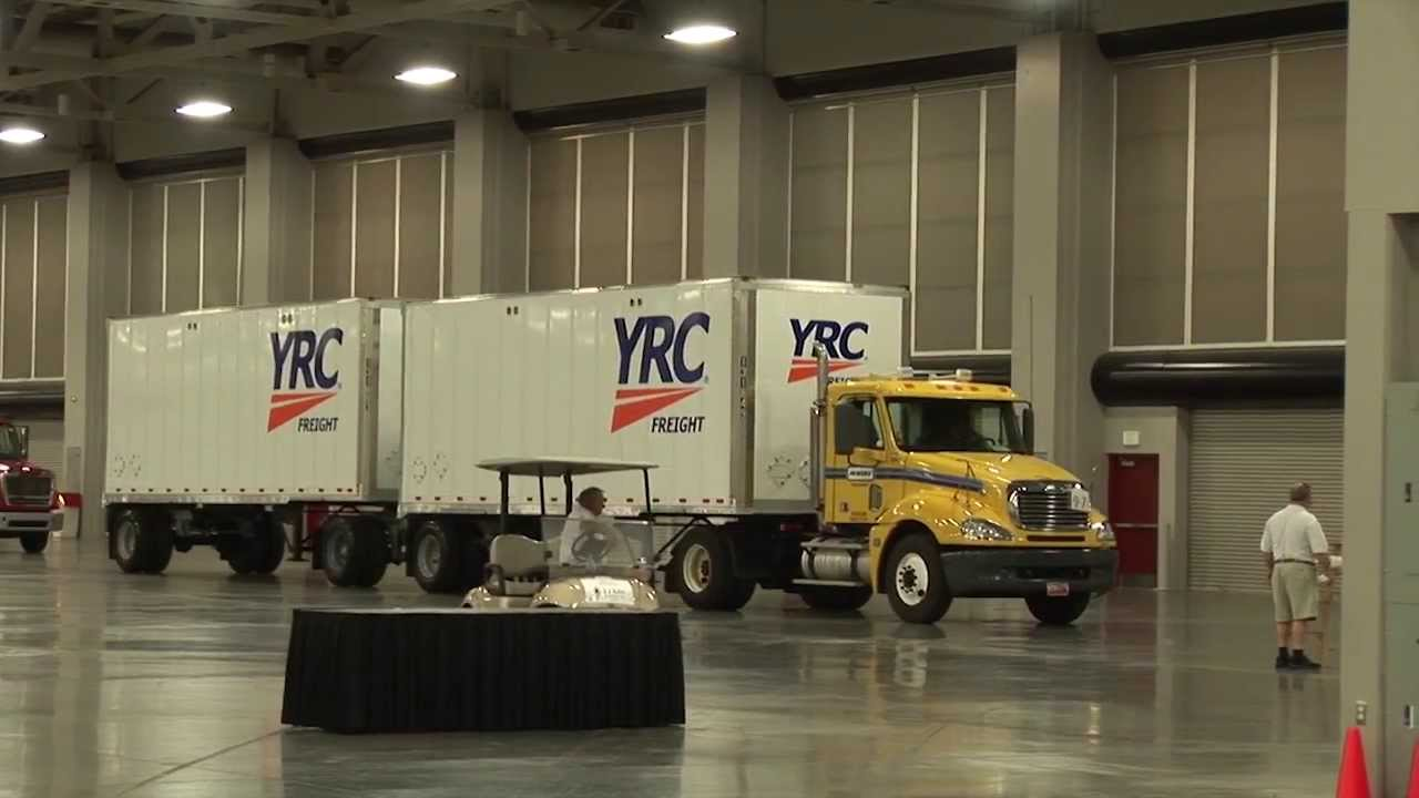 National Truck Driving Championship 2013- YRC Freight - Day 2 Recap