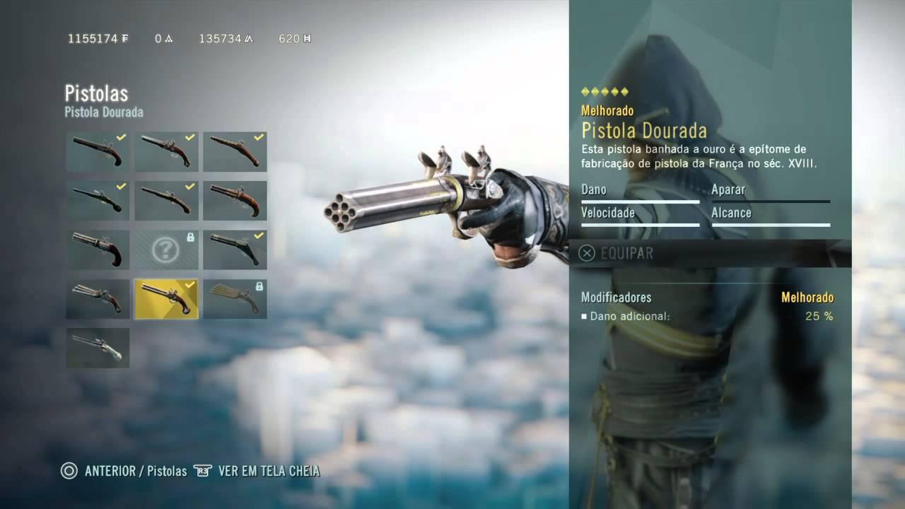 Assassin S Creed Unity Todo O Conteudo Da Dlc Armamentos