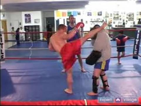 how to do a muay thai roundhouse kick