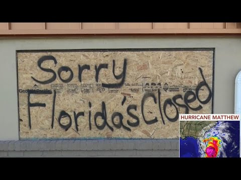 Hurricane Matthew hammers Florida from YouTube · Duration:  2 minutes 52 seconds