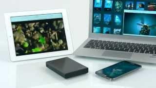 Seagate Wireless Plus — беспроводной внешний жёсткий диск