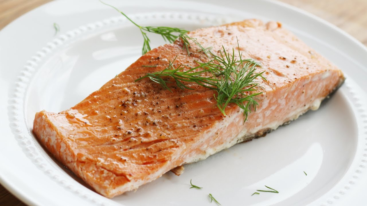 how to cook salmon from frozen youtube. Black Bedroom Furniture Sets. Home Design Ideas