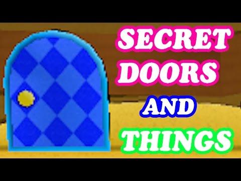 Paper Mario Sticker Star - World 1+2 - All Secret Doors & Things (Nintendo 3DS Gameplay Walkthrough)