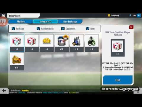 Mlb perfect inning live pack opening
