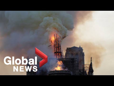 Notre Dame fire: Investigators inspect burned out cathedral