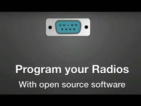 ARRL Webinar: CHIRP Programming October 20, 2016