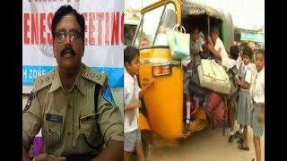 Charminar traffic police ACP Awareness Meeting Auto  Driver