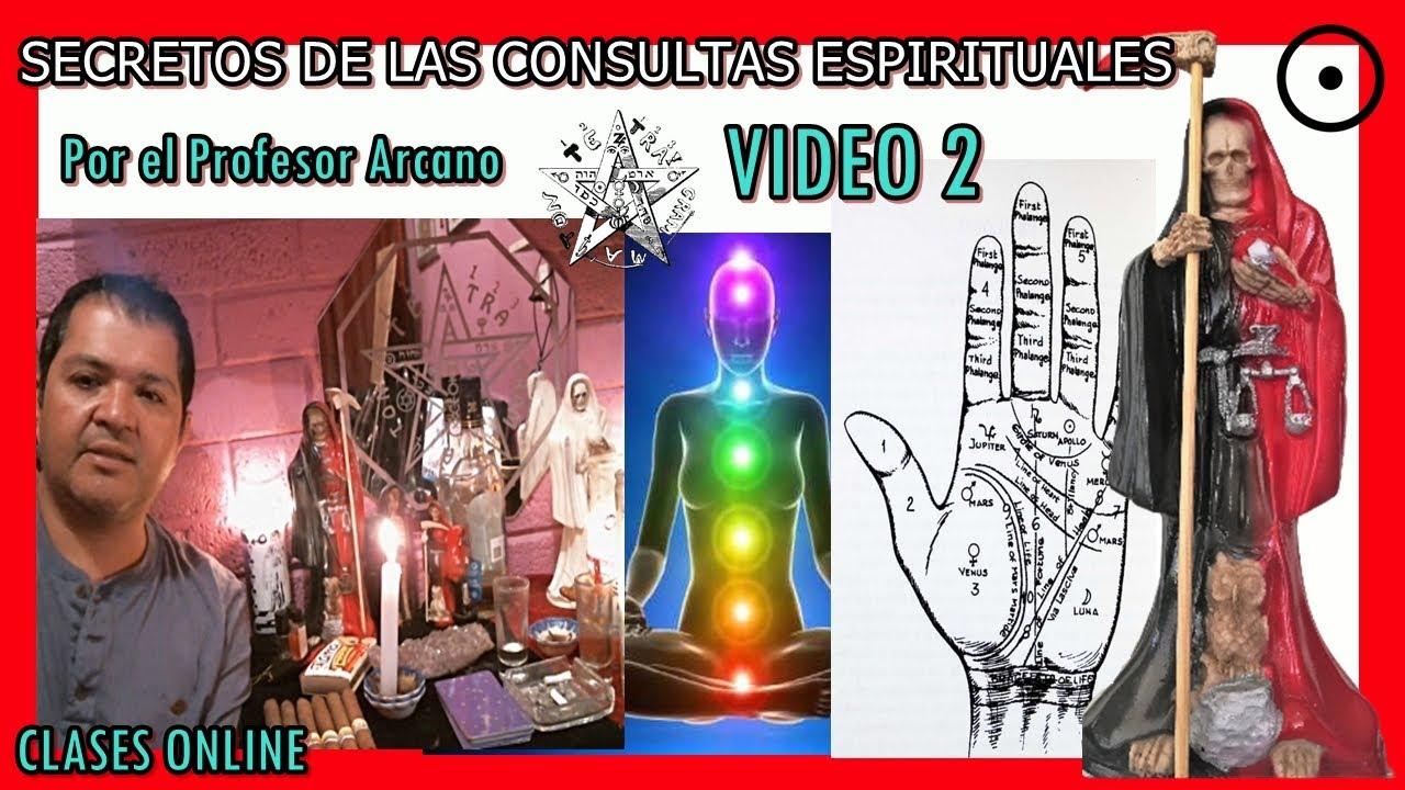 🧿Secretos de consultas espirituales 2 santaMuerte Profesor Arcano 💀☯✡