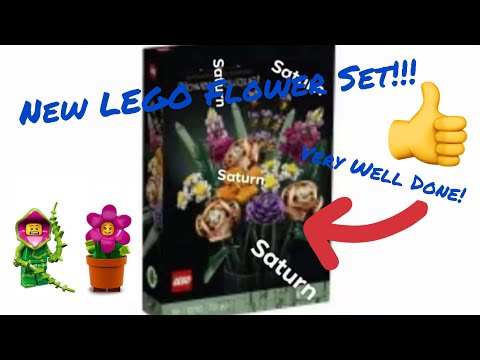 ALB News/ New Lego 18+ Flower Bouquet Set! Being Released??| 20280