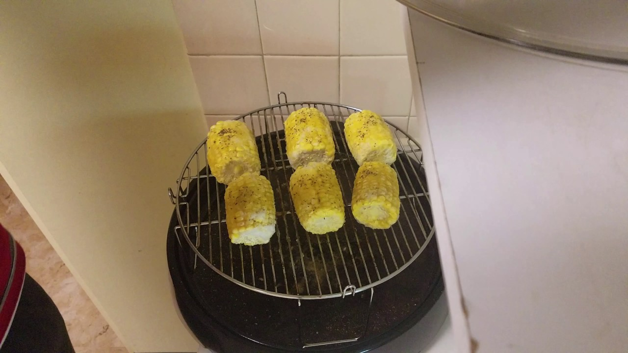 frozen corn on the cob on the grill
