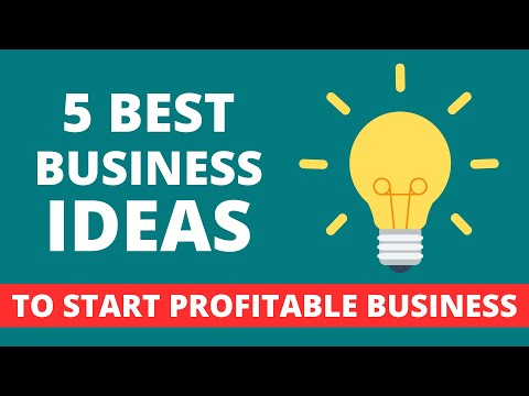 5 Best Business Ideas To Start Your Own Business