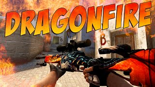 CS:GO - SSG 08 | Dragonfire Gameplay