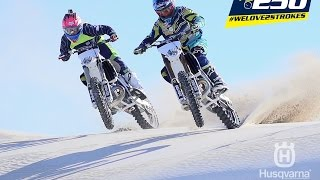 TC250 – wide open in the dunes!