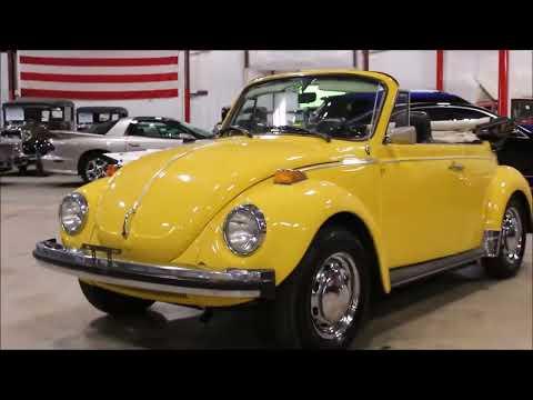 1975 Volkswagen Beetle Yellow