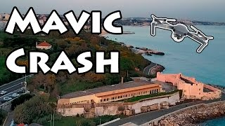 Mavic Pro Crash on Military Property