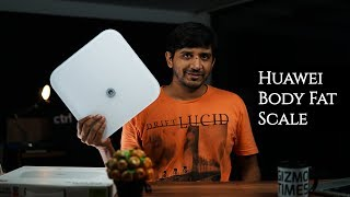 Huawei Body Fat Scale (Smart Scale) Features, Demo - What all does it track?