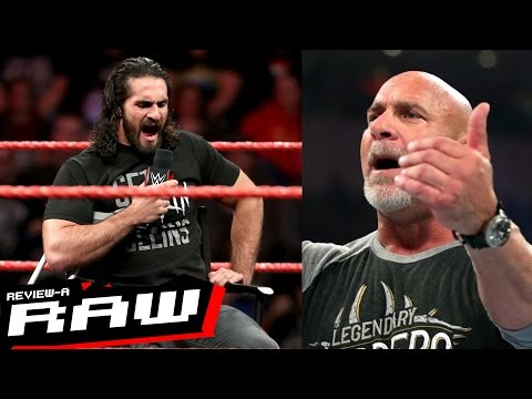 Seth Rollins Returns & Confronts Triple H, Goldberg Appears | WWE Raw 2/27/17 Review