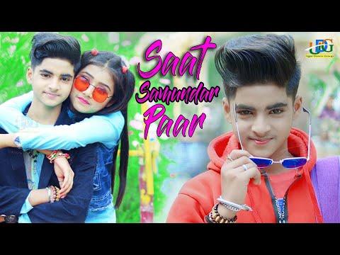 Saat Samundar Paar Main 🌴 Cute Love Story 💋 New bollywood songs 🌻 Rupsa & Rick 🌴 Ujjal Dance Group