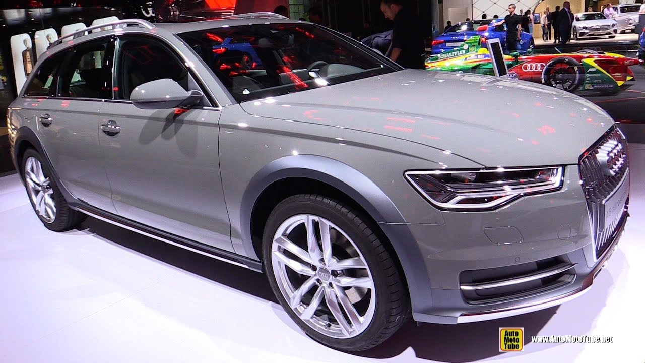 2018 audi a6 allroad tdi exterior and interior walkaround 2017 frankfurt auto show youtube. Black Bedroom Furniture Sets. Home Design Ideas