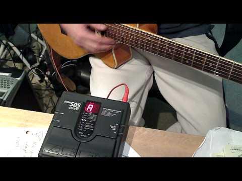 zoom 505 tuning guitar