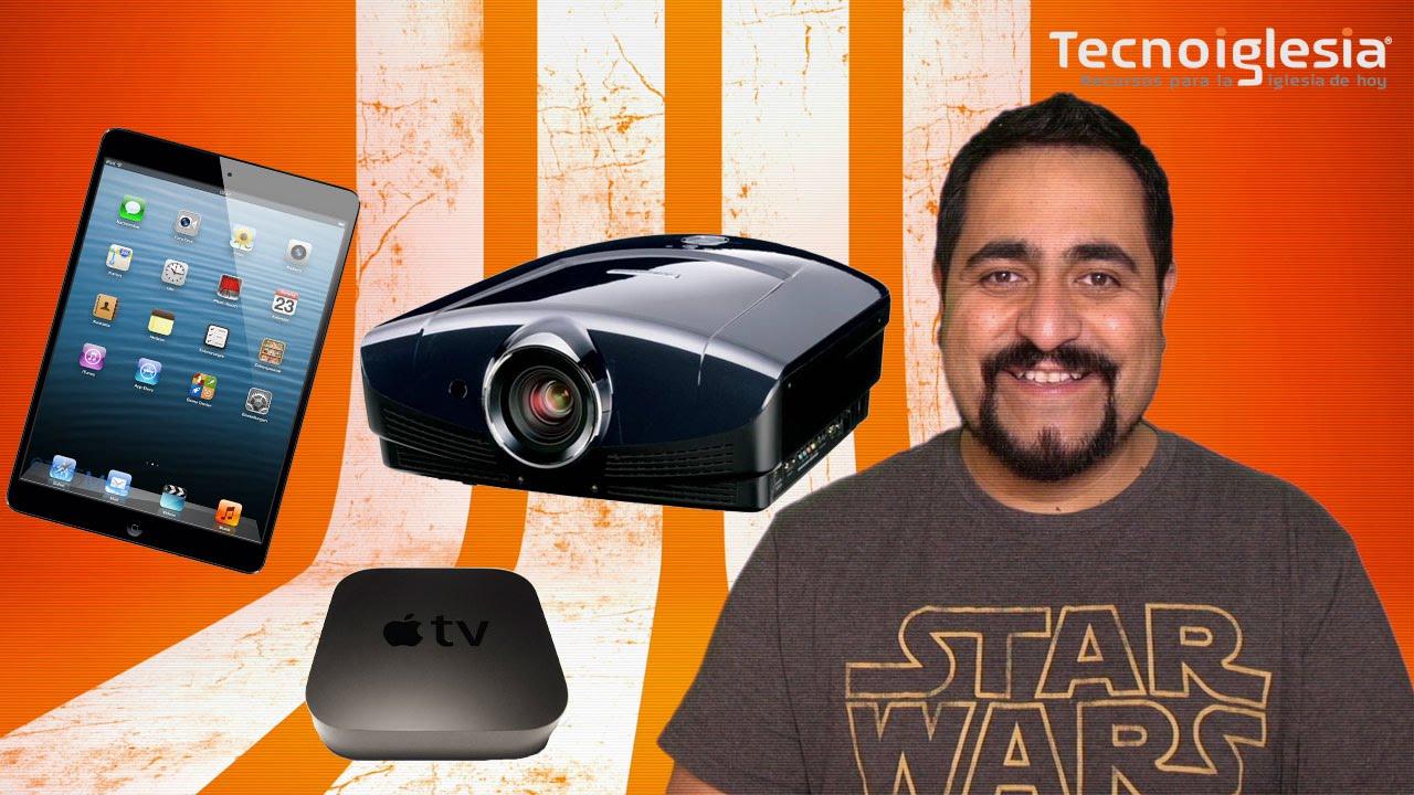 5d0d22b3a64 Como conectar un iPad a un proyector o pantalla plana - YouTube