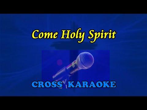 Malcolm Fletcher -  Come Holy Spirit. Instrumental Karaoke backing by Allan Saunders