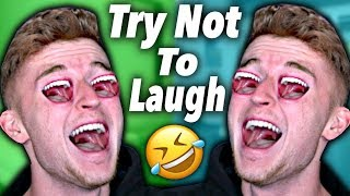 Try Not To LAUGH Challenge.. (SUPER HARD)