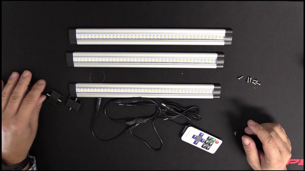 unterbauleuchte led dimmbar 12 watt 900 lumen 3000 kelvin youtube. Black Bedroom Furniture Sets. Home Design Ideas