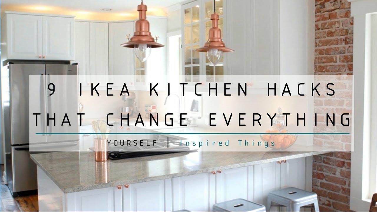 9 Ikea Kitchen Hacks That Change Everything - YouTube