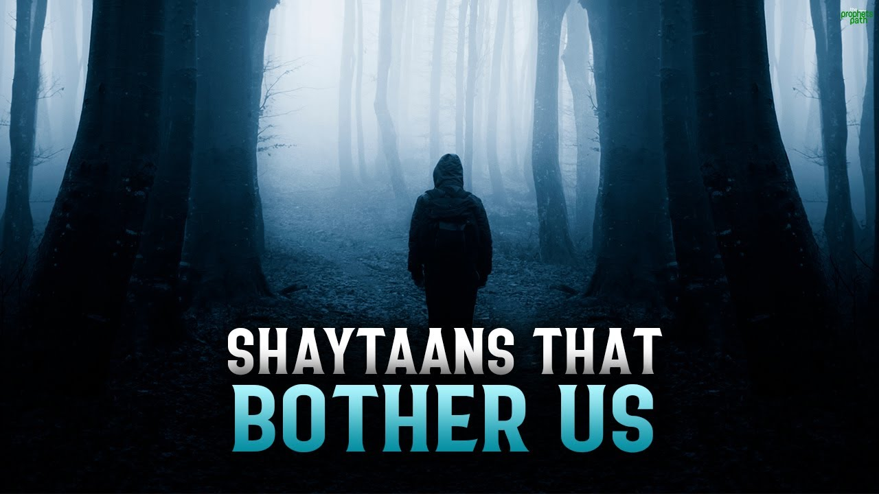THE TYPES OF SHAYTAANS THAT BOTHER US
