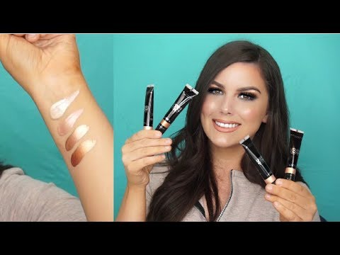 anastasia beverly hills liquid glow first impression review youtube. Black Bedroom Furniture Sets. Home Design Ideas