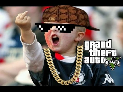 Racist Ghetto Kid Rages in GTA Online by PR7 Alpha
