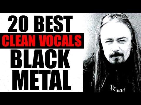20 Best CLEAN Vocals in BLACK METAL