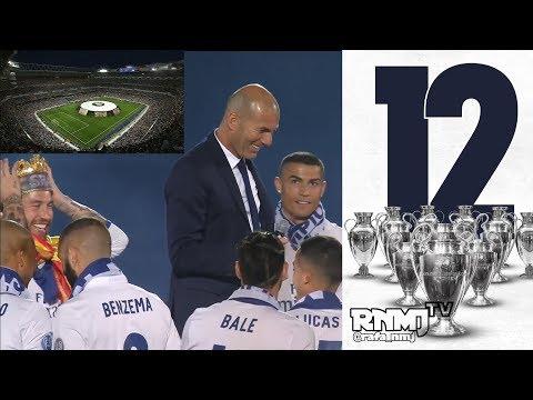 Fiesta completa de la Duodécima en el Bernabéu Real Madrid TV HD