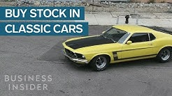 This App Allows Anyone To Invest In Classic Cars