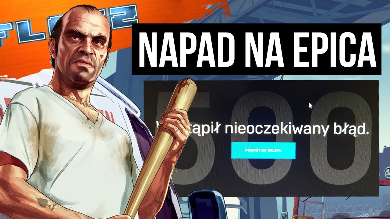 Jak darmowe GTA 5 zepsuło Epic Games Store. FLESZ – 14 maja 2020