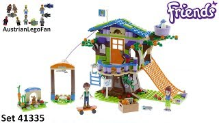 Lego Friends 41335 Mia´s Tree House - Lego Speed Build Review