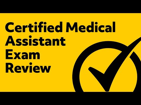 Certified Medical Assistant Exam Review