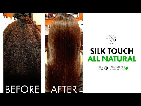 Keratin Treatment Silk Touch Formaldehyde Free Same Day Results Youtube