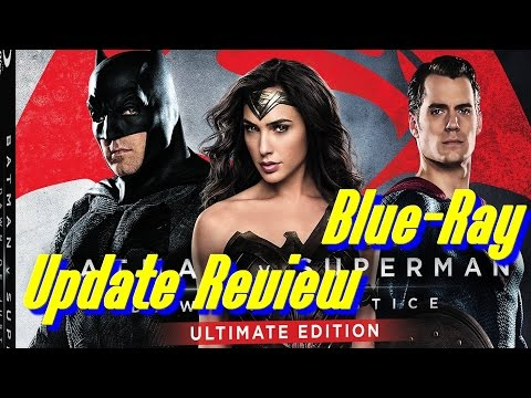 Batman v Superman Dawn Of Justice Blue Ray Update Review